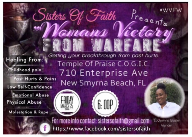 WOMANS Victory from Warfare…. WVFW CLASS